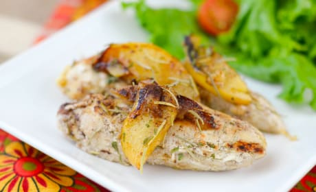Pan-Seared Apple Chicken Recipe