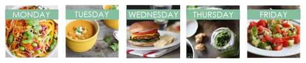 Meal Plan: Vegetarian Photo