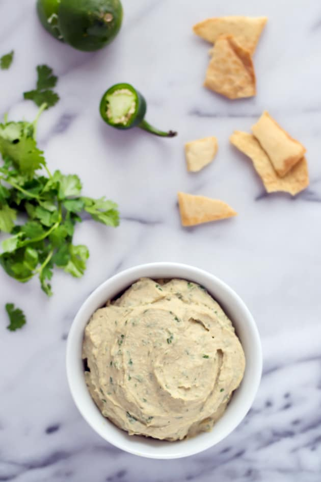 Cilantro Jalapeno Hummus Picture