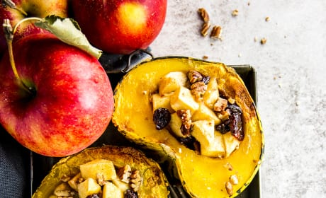 Cranberry Apple Stuffed Acorn Squash Image