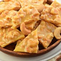 Cashew Brittle Recipe