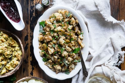 Cauliflower Rice Stuffing