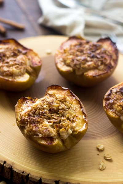 Cheesecake Stuffed Baked Apples Picture