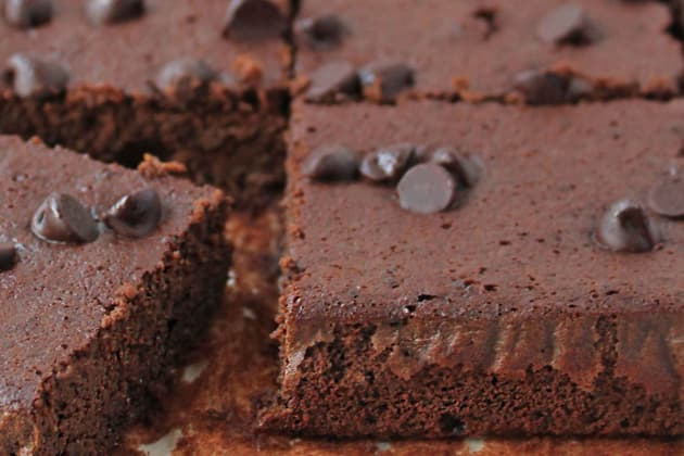 Gluten Free Double Chocolate Bars Image