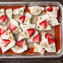 Strawberry Lime Yogurt Bark Recipe