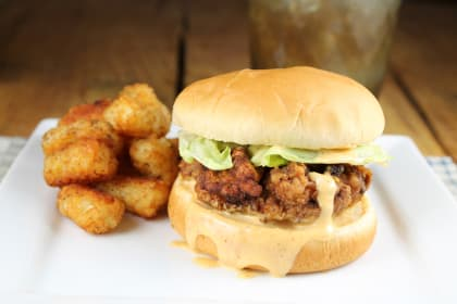 Chicken Fried Steak Sandwiches