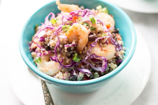 Shrimp Quinoa Salad Photo