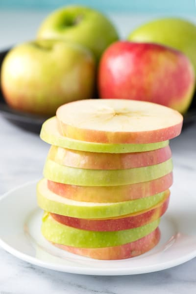 Apple Peanut Butter Sandwiches Picture