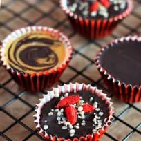 Cupcakes veganos de 5 ingredientes
