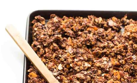 Nutella Almond Granola Pic