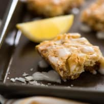 Lemon Coconut Dream Bars Recipe