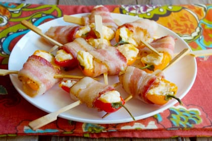 Mini Sweet Pepper Poppers