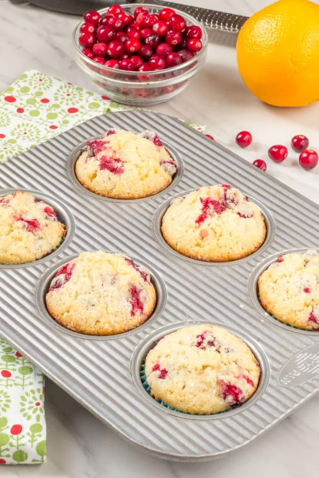 Cranberry Orange Muffins Pic