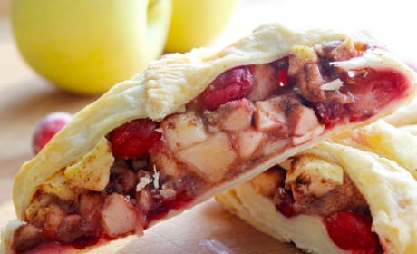 Cranberry Apple Strudel Recipe