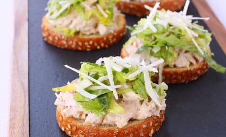 Chicken Caesar Bruschetta Recipe