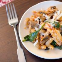 Chicken Mushroom Pasta Recipe
