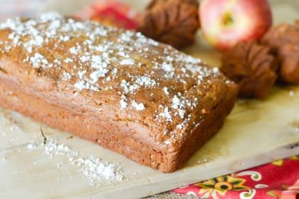 Gluten Free Caramel Apple Bread