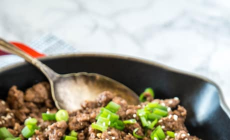 Ground Mongolian Beef Picture