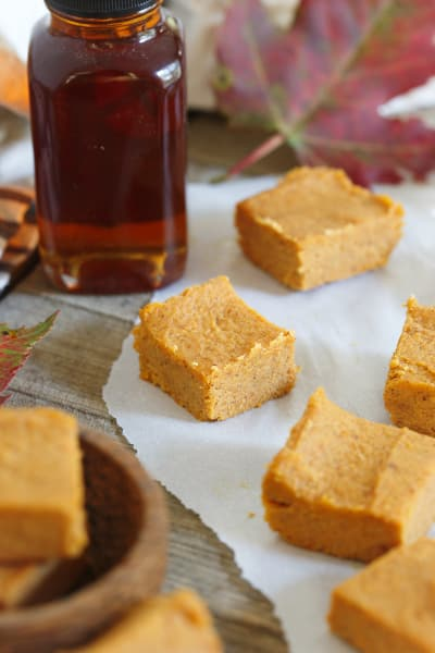 Paleo Pumpkin Pie Fudge Picture