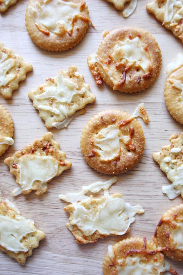 Melted Cheese Crackers Image