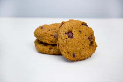Whole Wheat Pumpkin Chocolate Chip Cookies