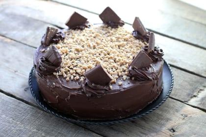 Mocha Cake: Toffee Crunch Madness