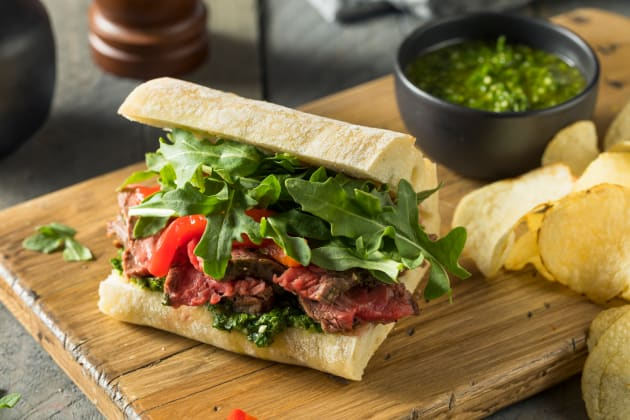 Steak Sandwich Photo