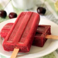 Cherry Lime Popsicles Recipe