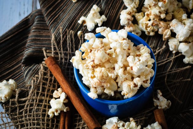 Cinnamon Roll Popcorn Photo