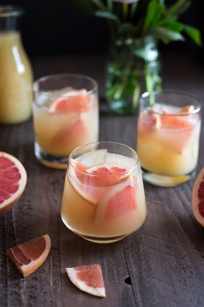 Bourbon Grapefruit Cocktail Pic