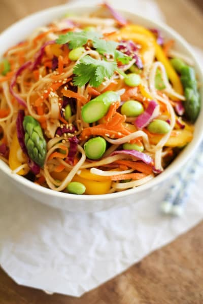 Spring Vegetable Pad Thai Picture