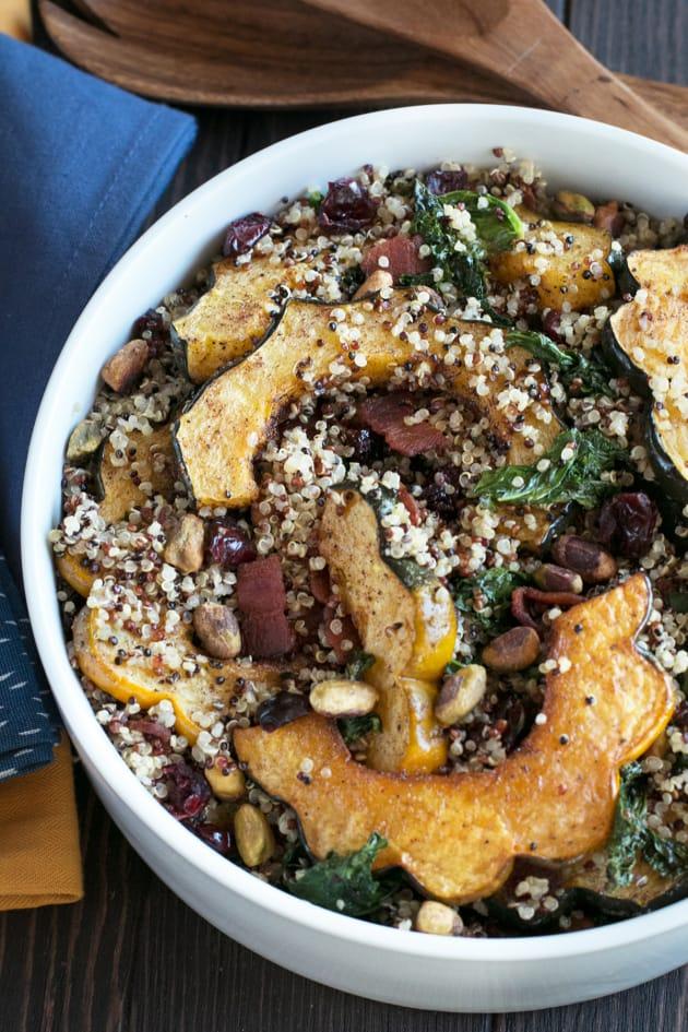 Harvest Acorn Squash Quinoa Salad Picture