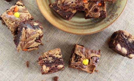 Peanut Butter Swirled Brownies Recipe
