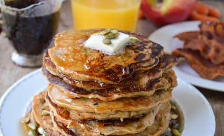 Morning Glory Pancakes Recipe