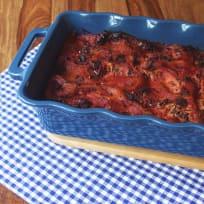 Eggplant Lasagna with Mushrooms. Veggie & Yummy.