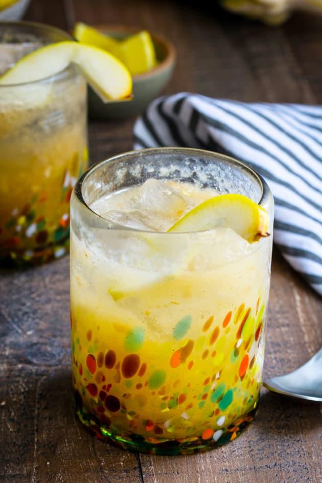 Vanilla Pear Gin Fizz Picture