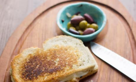 Muffuletta Grilled Cheese Image
