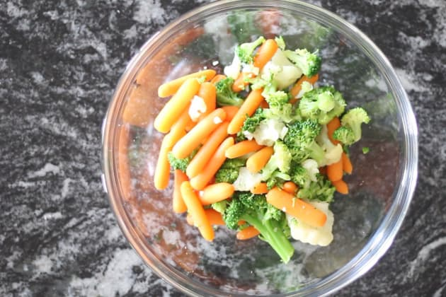 Parboiled Mixed Vegetables Photo