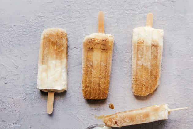 Root Beer Float Popsicles Photo