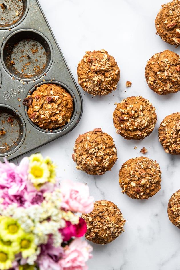 Vegan Carrot Muffins Pic