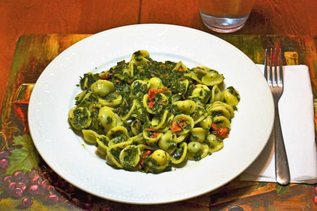 Pasta Florentine with Orecchiette Picture