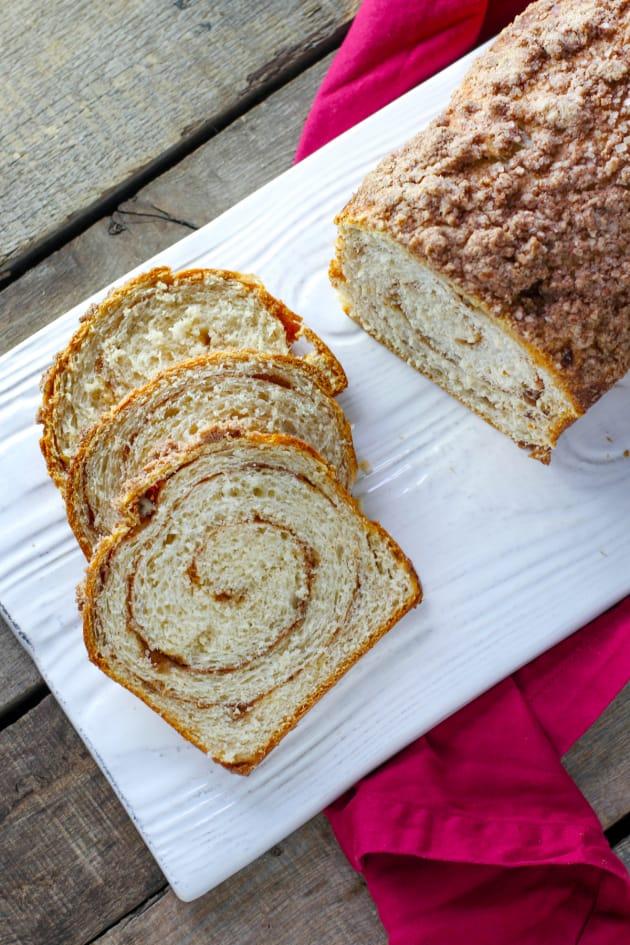 Triple Cinnamon Swirl Bread Picture