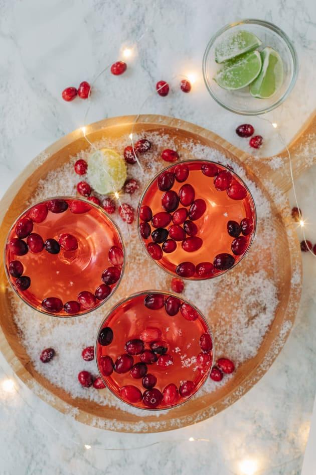 Cranberry Gimlet Recipe Photo