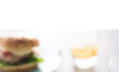 Hot Brown Turkey Burger Image