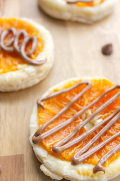Chocolate Orange Tarts Picture