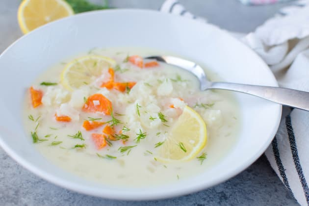 Paleo Greek Lemon Chicken Soup Photo