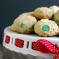 White Chocolate Peppermint Mocha Cookies Recipe