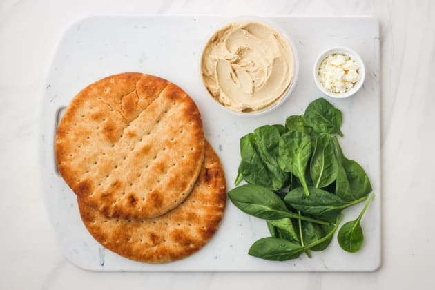 Zucchini and Hummus Pita Sandwiches Pic