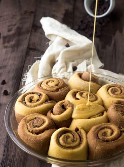 Whole Wheat Cinnamon Rolls Picture