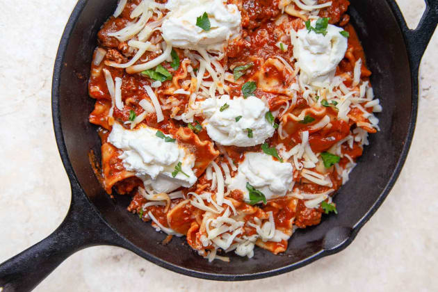 Skillet Lasagna Photo